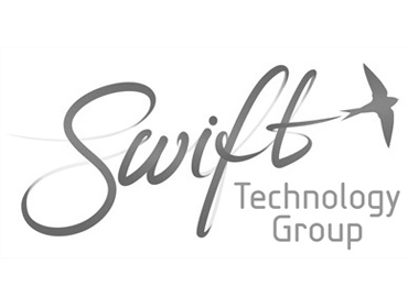 Swift Logo Black and White