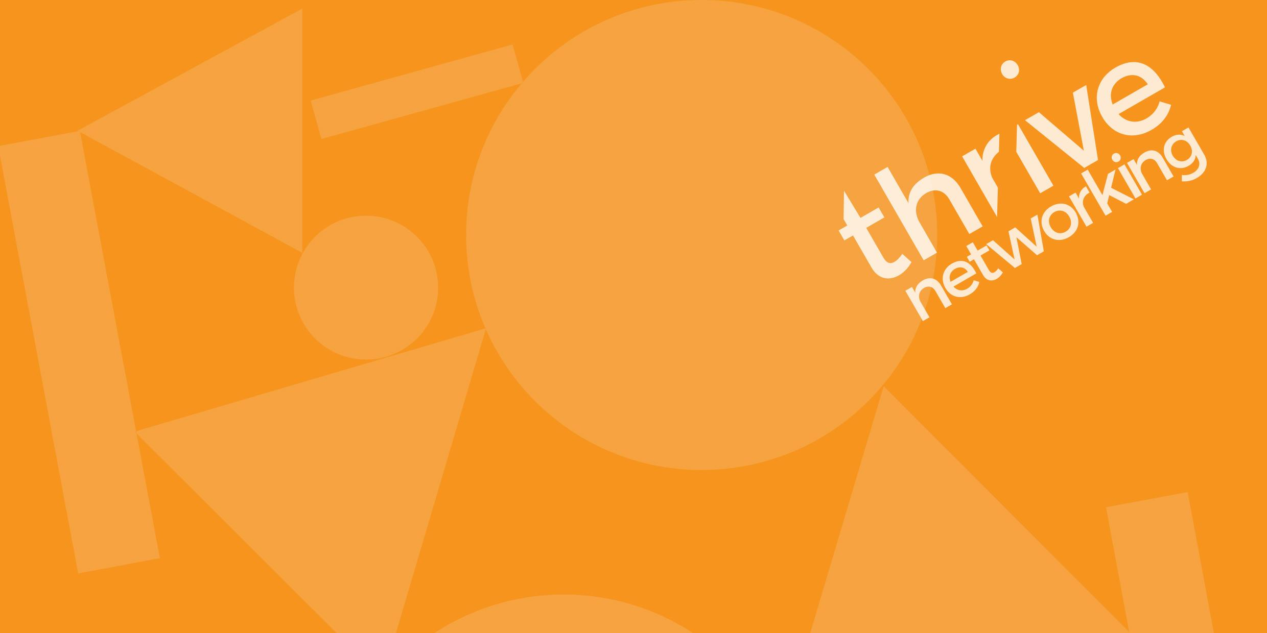 Thrive Networking Header Image